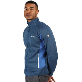 Regatta Ecuador Softshell Jas Heren, nautical blue/navy